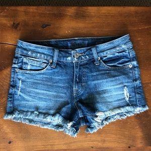 NWOT Lucky Cut-off shorts